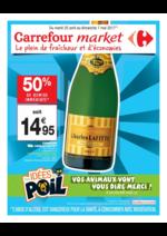 Prospectus Carrefour Market : Le plein de fraîcheur et d'économies