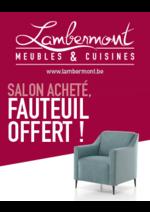 Promos et remises  : Salon acheté, fauteuil offert