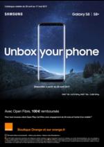 Prospectus Orange : Unbox your phone