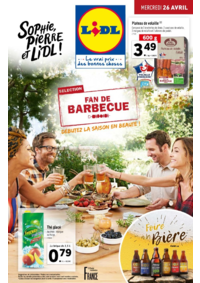 Prospectus Lidl CLICHY 122 avenue du Général Leclerc : Fan de barbecue, débutez la saison en beauté !