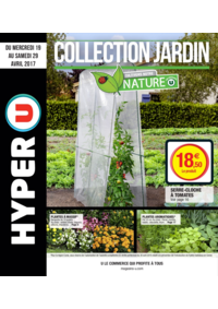 Prospectus Hyper U HANCHES : Collection jardin