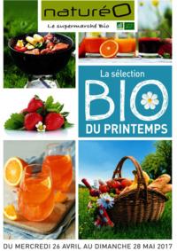 Prospectus NaturéO VAUREAL : La sélection Bio du printemps