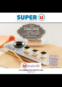 Menus Super U CHATOU : Mon traiteur à la carte