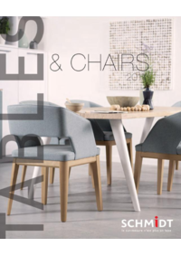 Catalogues et collections Cuisines Schmidt HERBLAY : Tables & Chairs 2017