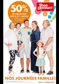 Prospectus Shoe Discount HALLE : Nos journées famille !