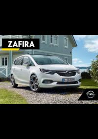 Catálogos e Coleções Opel Agualva - Cacém : Catálogo Opel Zafira