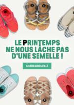 Promos et remises  : Collection chaussures fille