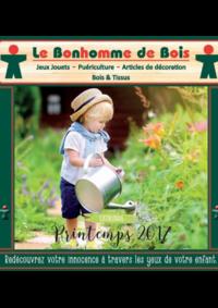 Catalogues et collections Le Bonhomme de Bois Alésia Paris 14ème : Feuilletez le catalogue printemps 2017