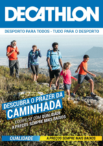 Folhetos DECATHLON : Descubra o prazer da caminhada