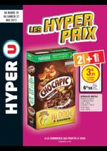 Prospectus Hyper U : Les hyper prix