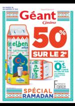 Prospectus Géant Casino : 50% sur le 2ème
