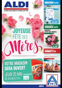 Prospectus Aldi Asnières-sur-Seine : Joyeuse fête des mères
