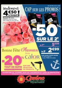 Prospectus Supermarchés Casino PARIS 352 RUE LECOURBE : Cap sur les promos : -50% sur le 2ème