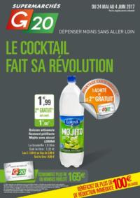 Prospectus G20 PARIS 1 Louvre : Le cocktail fait sa révolution