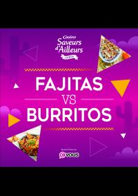 Prospectus Supermarchés Casino ANDRESY : Fajitas VS Burritos