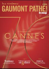 Journaux et magazines Gaumont Pathé! Paris 32 rue Louis Le Grand : Feuilletez le magazine du mois de Mai 2017