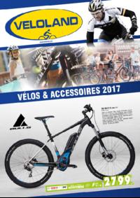 Catalogues et collections VELOLAND VOISINS LE BRETONNEUX : Vélos et accessoires 2017
