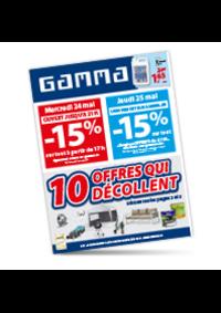 Prospectus GAMMA AUVELAIS : 10 offres qui décollent