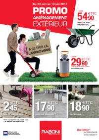 Prospectus RABONI Nanterre : Promo aménagement extérieur
