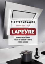 Catalogues et collections  : Catalogue Electroménager 2016-2017