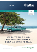 Catálogos e Coleções Viagens El Corte Inglés : Cuba MSC cruzeiros