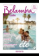 Catalogues et collections  : Belambra clubs 2017