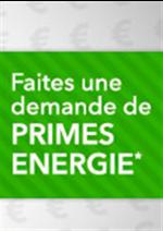 Promos et remises  : Primes Energie