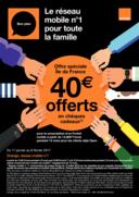 Prospectus Boutique Orange MONTESSON : Le réseau mobile numéro 1 pour la famille