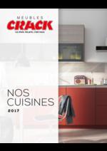 Catalogues et collections Meubles Crack : Nos cuisines 2017
