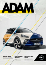 Catalogues et collections  : Opel Adam