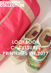 Catalogues et collections Bensimon Gallery S Paris : Lookbook Chaussures printemps été 2017