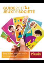 Guides et conseils Picwic : Jeux de société - guide 2017