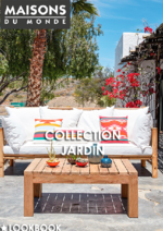 Catalogues et collections Maisons du Monde : Collection jardin