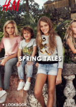 Catalogues et collections H&M : Lookbook Spring Tales