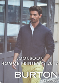 Catalogues et collections Burton SAINT GERMAIN EN LAYE : Lookbook homme printemps 2017