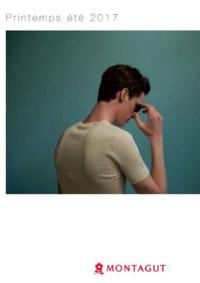 Catalogues et collections Montagut Paris Centre Commercial Oslo : Lookbook homme printemps été 2017