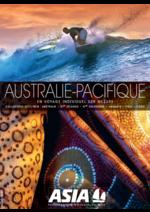 Catalogues et collections Asia : Australie - Pacifique 2017-2018