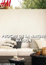 Catalogues et collections H&M : Lookbook maison Proche de la nature