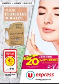 Prospectus U Express PARIS - Q. JEMMAPES : Pour toutes les beautés