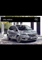 Catálogos e Coleções Opel : Catálogo Opel meriva