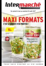 Prospectus Intermarché Super : Maxi formats c'est le moment d'en profiter !