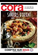 Prospectus Cora : Saveurs d'Orient