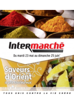 Prospectus Intermarché Super : Saveurs d'Orient à prix chaleureux