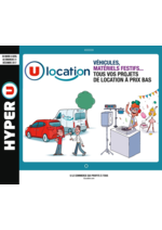 Prospectus Hyper U : Guide de location