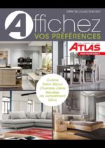 Catalogues et collections Atlas : Affichez vos préférences