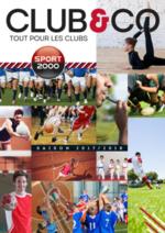 Catalogues et collections  : Club & Co - tout pour les clubs 2017-2018