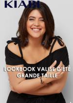 Catalogues et collections Kiabi : Lookbook Valise d'été - Grande taille