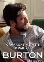Catalogues et collections Burton : Campagne Plein été homme 2017