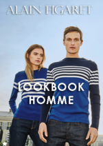 Catalogues et collections Alain Figaret : Lookbook homme