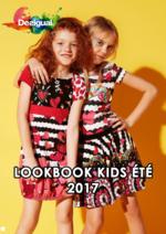 Catalogues et collections Desigual : Lookbook kids été 2017